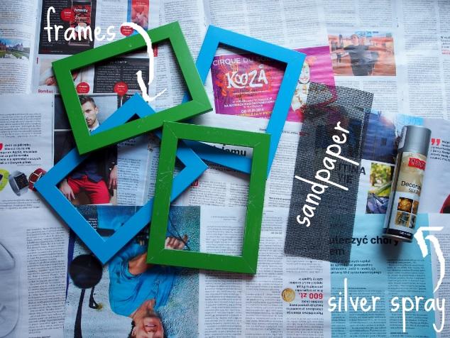 DIY: Silver frames!