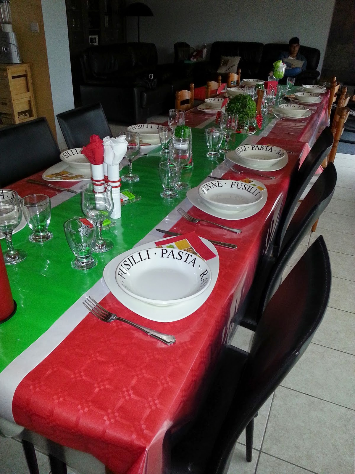 Decoration Italienne Table : Deco italienne