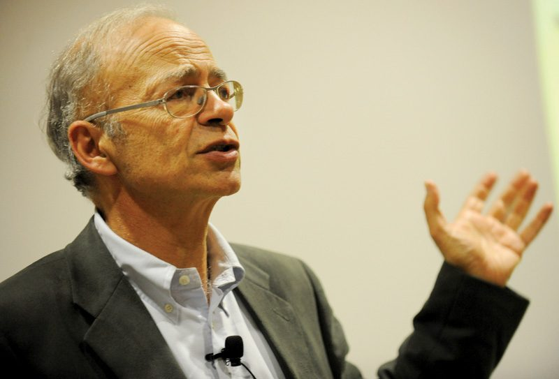 arguments of peter singer Analysing the rich and poor philosophy essay print reference this apa mla mla-7 harvard vancouver in rich and poor peter singer argues that we have a duty to aid those suffering from absolute poverty singer's argument reasons that after achieving effluence.