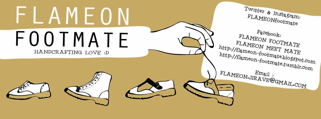 FLAMEON FOOTMATE ;Handcrafting Love :D