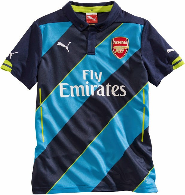 Jual Jersey Arsenal 3rd 14/15 Murah