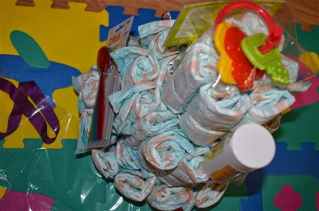 diaper cake for babies