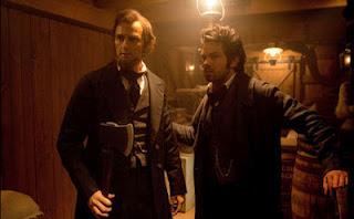 """Cena do filme """"Abraham Lincoln: Caçador de Vampiros"""""""