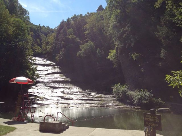 The record blogs millennial traveler camping at ny state for Sampson state park ny cabins