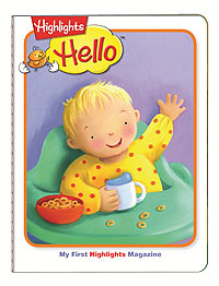 Magazine for babies, Highlights, Highlights hello