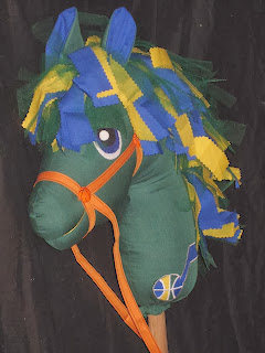 Jazz Themed Hobby Horse