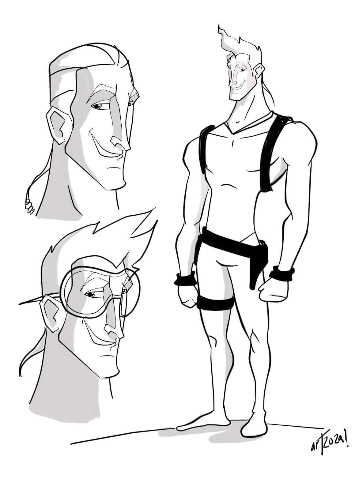 artzuza animacion de personajes  mayo 2012