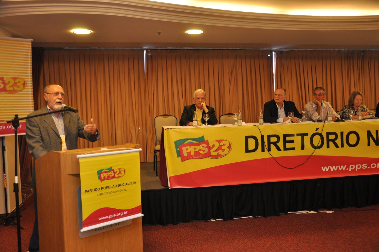 Reunião do diretório nacional do PPS, Brasília,