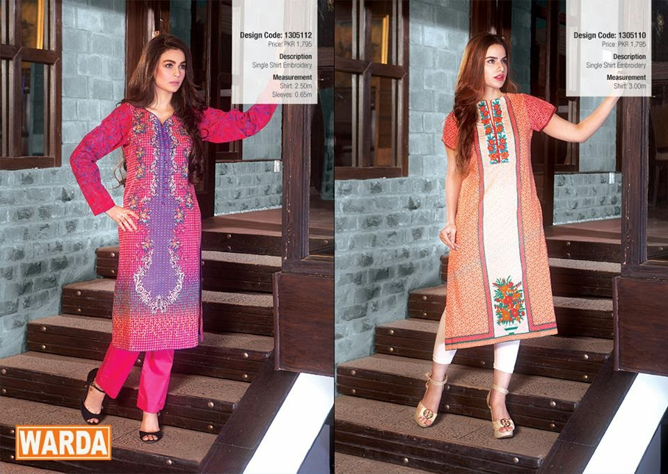 WARDA Spring Summer Lawn Collection 2015