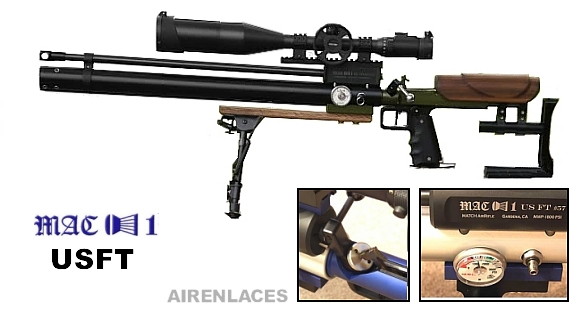 Mac1 USFT air rifle, Mac1 USFT rifle de aire, Mac1 USFT air rifle for Field Target