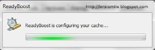 mengkonfigurasi cache ReadyBoost pada flash