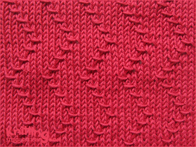Zig Zag Knitting Stitch Pattern : Zigzag Wraps Knitting Stitch Patterns