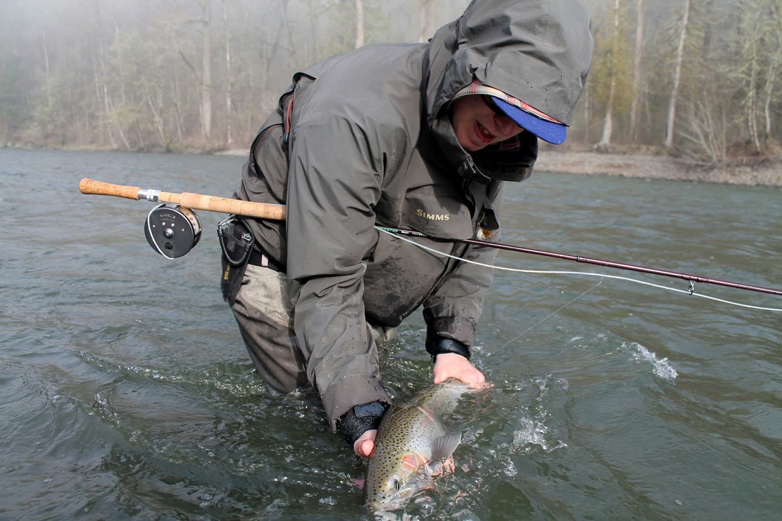 Gorge fly shop blog the gorge fishing calendar for Washougal river fishing