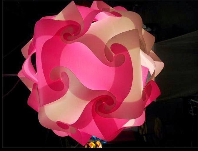 vinyl puzzle lamps, girls bedroom ceiling lights