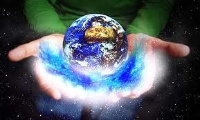 Картинка земли из космоса для детей
