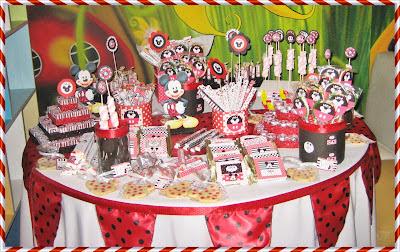 Mesa fiesta tematica candy bar