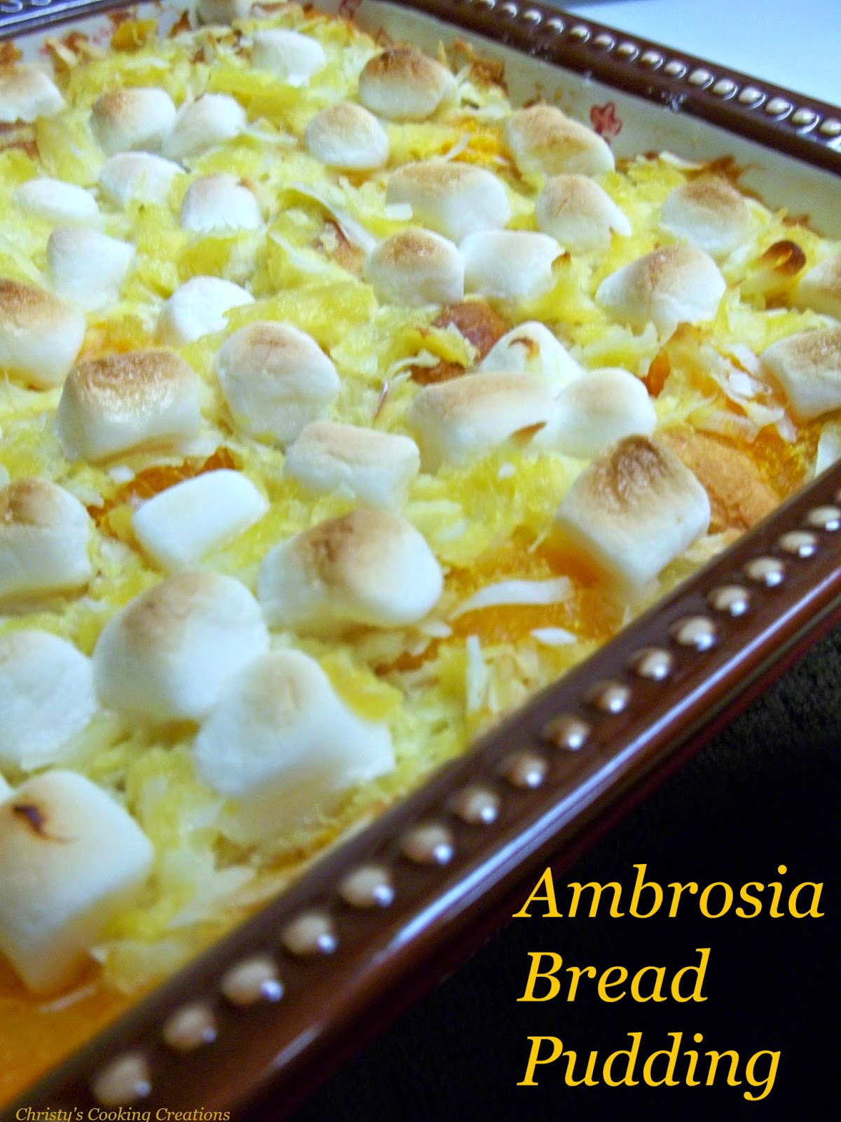 how to make ambrosia salad with pistachio pudding