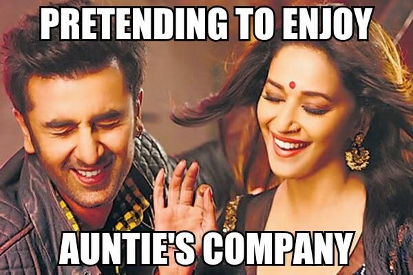 Madhuri Dixit, Ranbir Kapoor, Ghagra, Yeh Jawani Hai Deewani, Dance, Item Number, Bollywood Meme