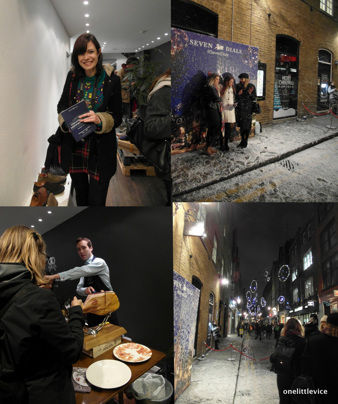 One Little Vice Beauty Blog: Christmas Shopping Event Seven Dials