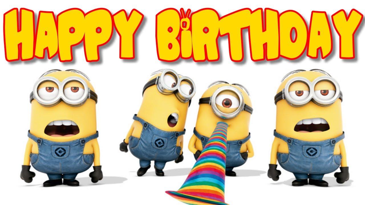Imágenes De Cumpleaños Minion Feliz Cumpleaños