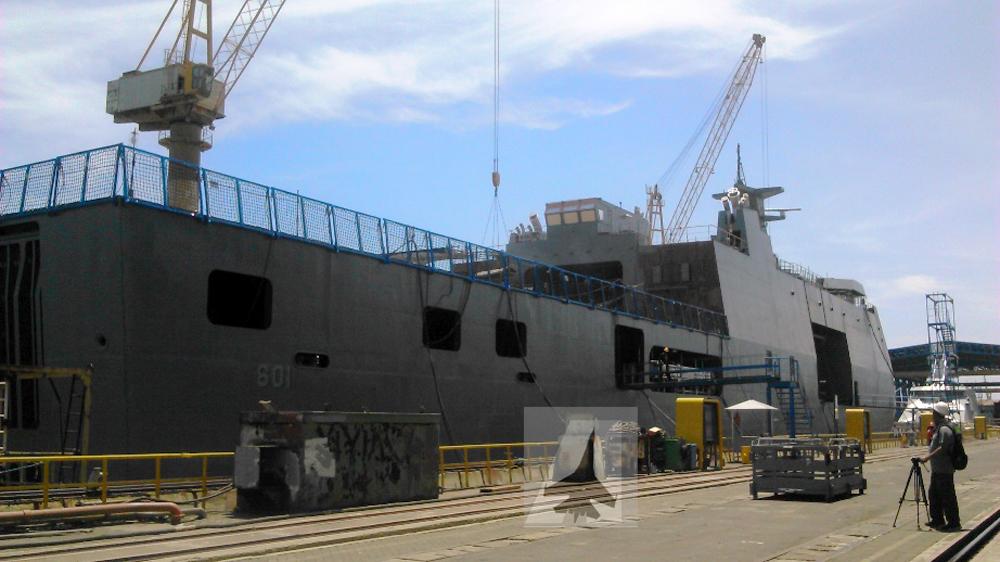 Kapal Perang PKR10514 Dan SSV Produksi PT. PAL Surabaya