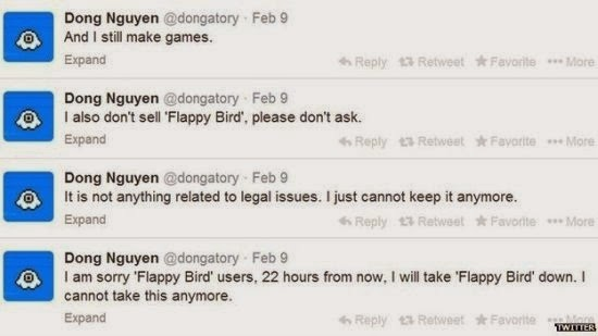 Nguyen announced on several Twitter posts this shocking news