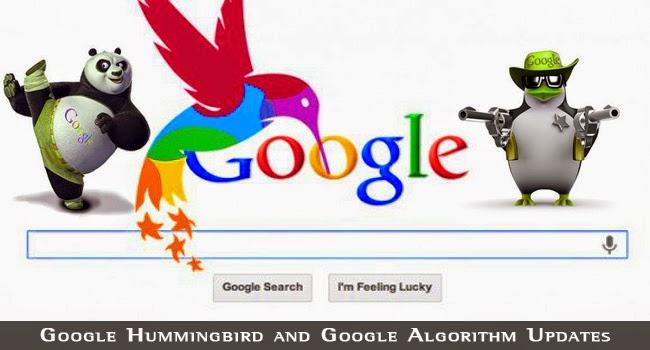 Los diferentes algoritmos del buscador Google
