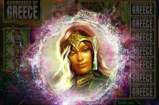 Exotic goddess from Goddesses of Greece game