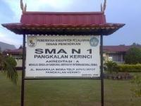 Sejarah SMA Negeri 1 Pangkalan Kerinci