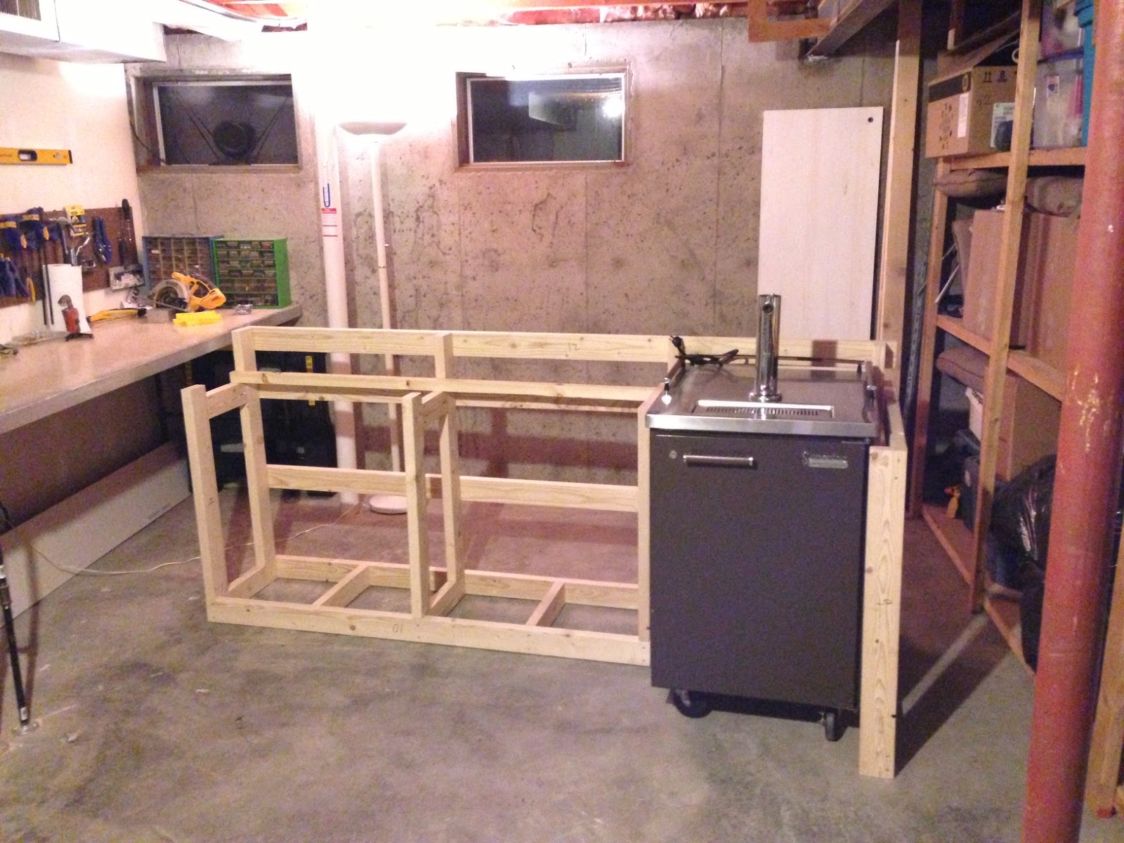 diy basement bar. basement bar back to the trees