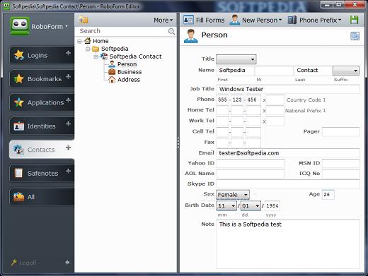 AI Roboform Enterprise أحدث اصدار لبرنامج التسجيل فى المواقع و حفظ كلمات المرور