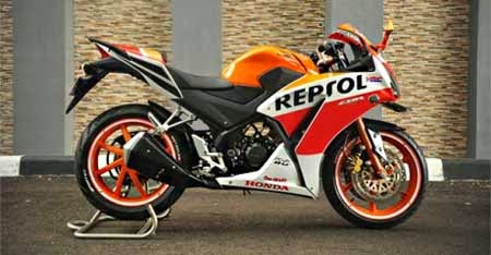 modifikasi all new honda cbr150R