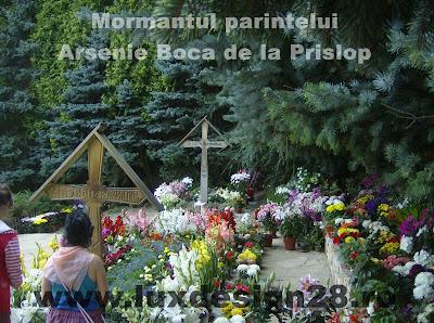 Arsenie Boca - Ieromonahul - locul unde este inmormantat