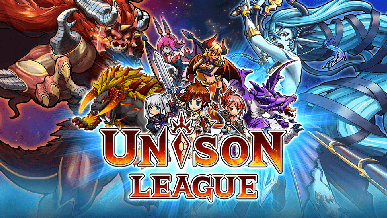 Unison League English Gameplay IOS / Android