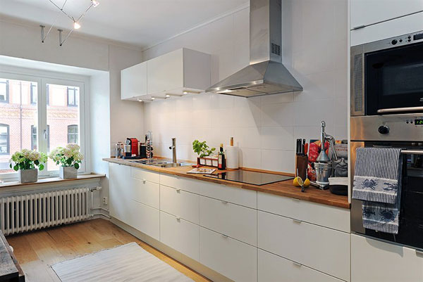 INSPIRING KITCHEN IDEAS FOR SMALL APARTMENT