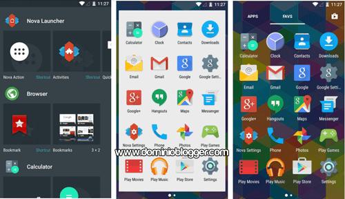 Organiza la pantalla de incio de tu telefono con Nova Launcher