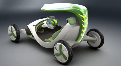 SAIC-GM YeZ, Eco-Friendly Concept Car of the Year 2030 Seen On www.coolpicturegallery.us