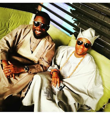 First Photos from OAP Tolu Oniru and Captain Tunde Demuren's Traditional wedding with their  ASEOBI BOYS .