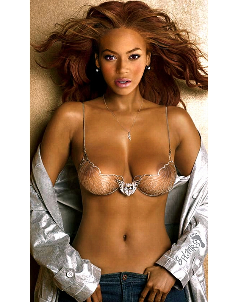 Beyonce nude boobs