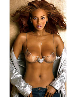 Beyoncé nude hot see-thru bra HD HQ picture