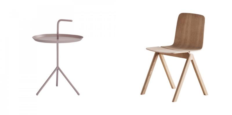 Hayn tuoli ja pöytä