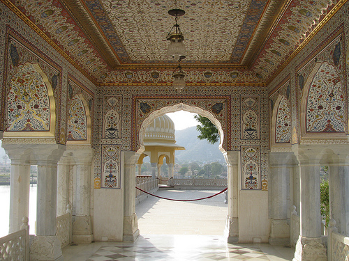 Image Gallery Inside Jal Mahal Jaipur