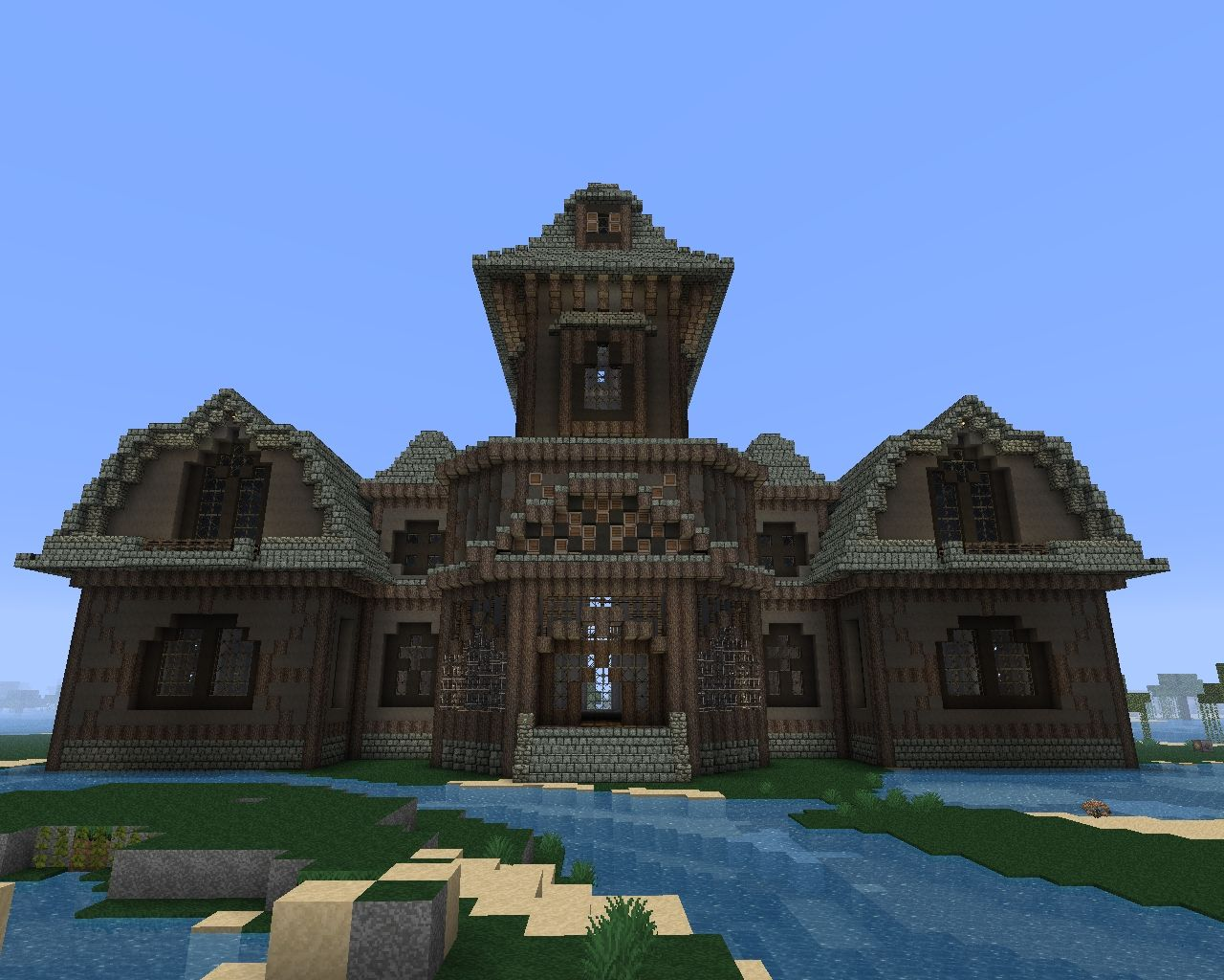 Minecraft Blog Mansion 025