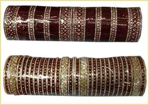 Glass Bangles Are Mostly Produced The Old Indian City Firozabad