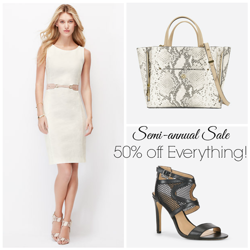 Join us today on the blog for a huge Ann Taylor Semi Annual Sale! Save up to 75% off, but hurry because the sale ends tonight! Join us today on the blog for a huge Ann Taylor Semi Annual Sale! Save up to 75% off, but hurry because the sale ends tonight! A style and designer deals blog by Lindsay & Whitney. home;.