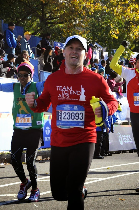 2014 New York Marathon Finish Line