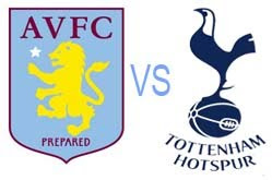 Prediksi Skor Aston Villa vs Tottenham 27 Desember 2012