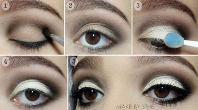maquillaje de ojos para noche paso a paso