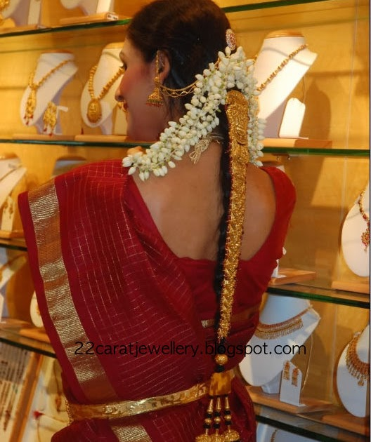 Gold Jada Or Choti Design From Shree Jewellers Jewellery