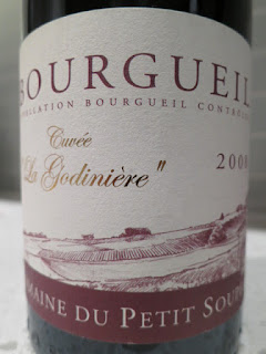 Label photo of 2008 Domaine du Petit Souper Bourgueil from Loire, France